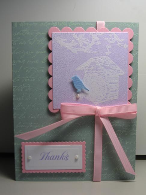 A bird of thanks and sweet happy birthday card craft on cue i bookmarktalkfo Choice Image