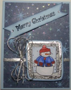 Snowman Card resize