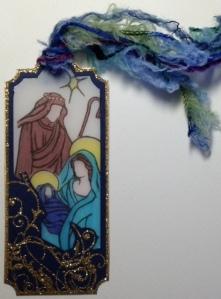 Nativity Bookmark